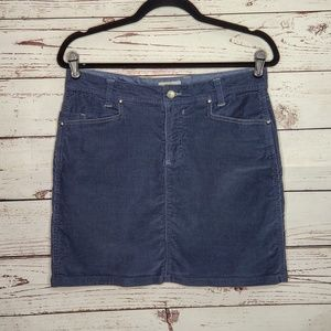 Horny Toad Corduroy Skirt Size 8